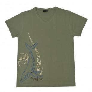 T-shirt Baleine Nezien (Col V Holiday)