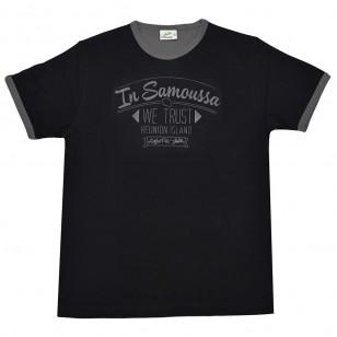 T-shirt WE TRUST (Col Bic)