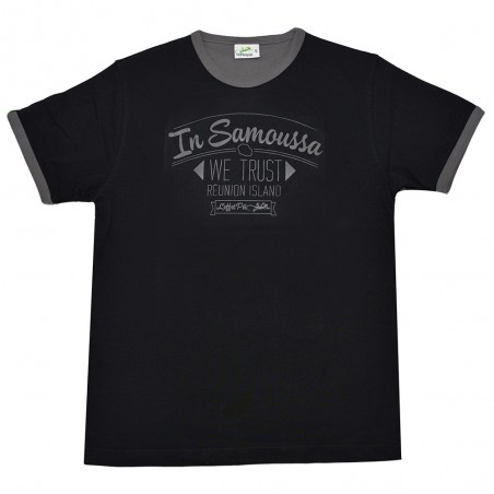 T-shirt WE TRUST (Col Bic)