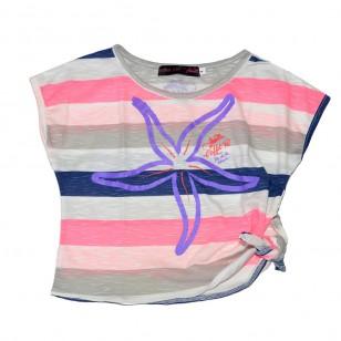 T-shirt Fille Pop Etoile de Mer