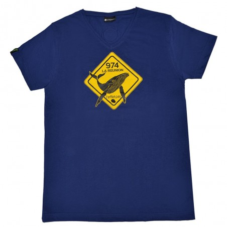 T-shirt Austral Baleine (Col V Holiday)