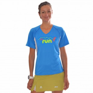 T-shirt Technik D+ Ultra Run by L'effet Péi