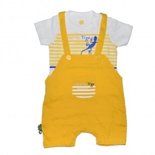 Ensemble T-shirt & Salopette Bébé Tiga