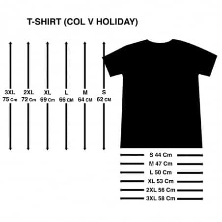 T-shirt Ti Punch (Col V Holiday)