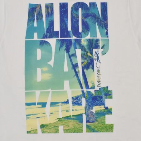 T-shirt Bat Karé Plage (Holiday)