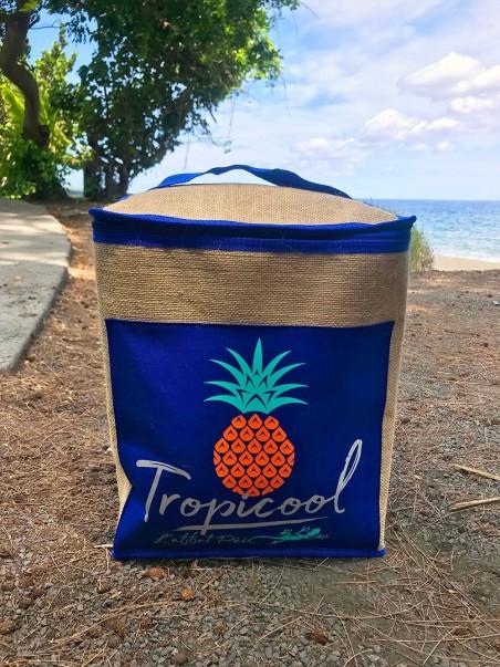 Glacière Ananas Tropicool (jute)