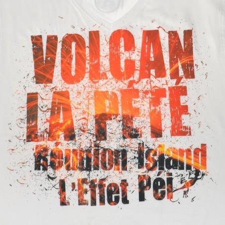 T-shirt Volcan la pété (Holiday Col V)