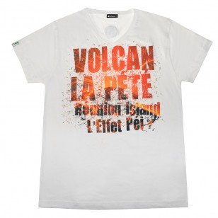 T-shirt Volcan la pété (Holiday Col V)