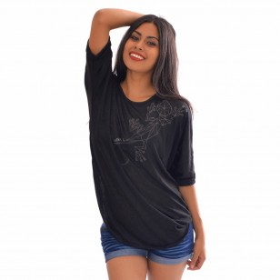 T-shirt Long Tia Origami
