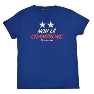 T-shirt 2 Etoiles (Col V Holiday)