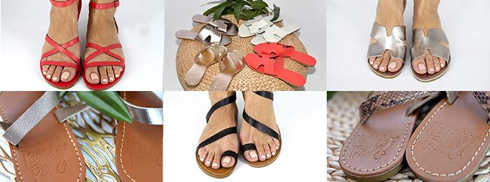 Sandales péi