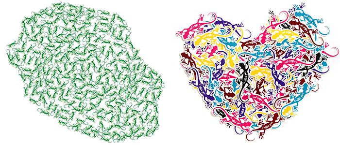 Stickers L'effet Péi île de la Réunion